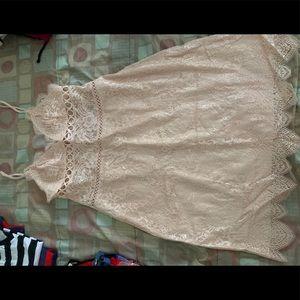 Victoria's Secret little nude dress